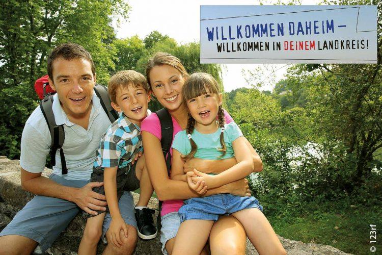 Bild einer Rückkehrerfamilie aus dem Landkreis Bad Kissingen