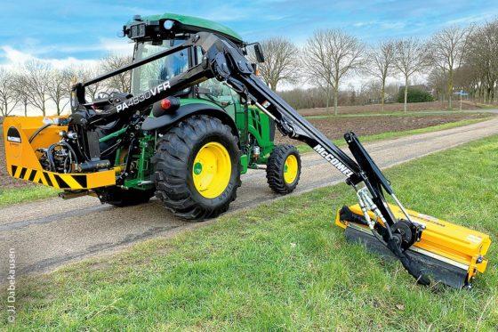 Der neue McConnel PA4830 VFR mit 4,8 m Reichweite ist marktführend bei Manövrierbarkeit, Präzision und Produktivität.