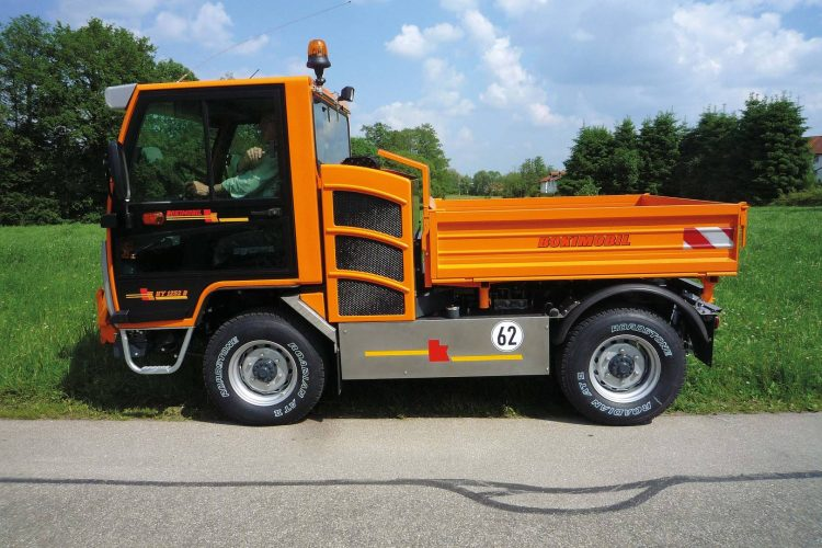 BOKIMOBIL Kommunal-Fahrzeuge Schmalspurfahrzeug