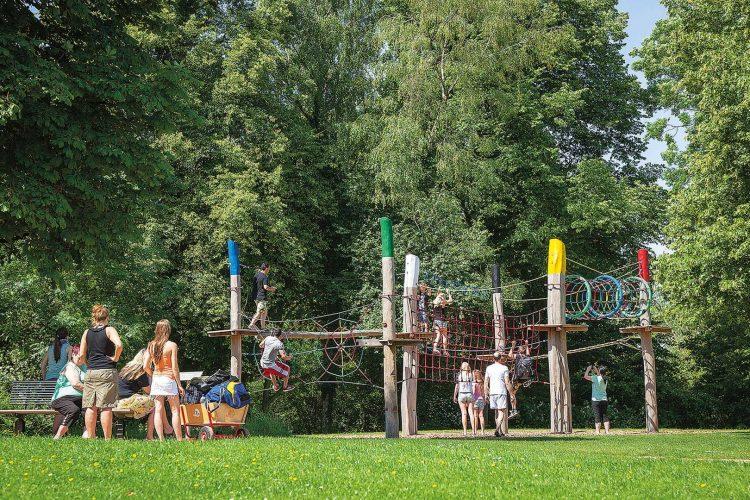 Bild von dem Vier-Jahreszeiten-Park Oelde
