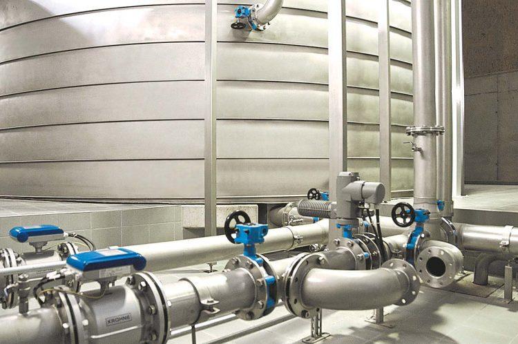 Bild Edelstahlbehälter für die Trinkwasserversorgung