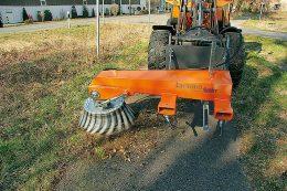 Groby Bürstenbau für Kommunalgeräte
