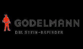 Godelmann-Logo, die Stein-Erfinder