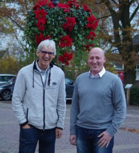 Geschäftsführer Bert de Kruijk und Deutschland-Verantwortlicher Oliver Stöcker anlässlich der GmbH-Gründung.