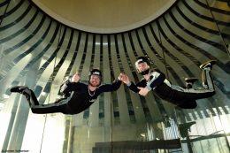 Fliegen im Windtunnel der Jochen Schweizer Arena