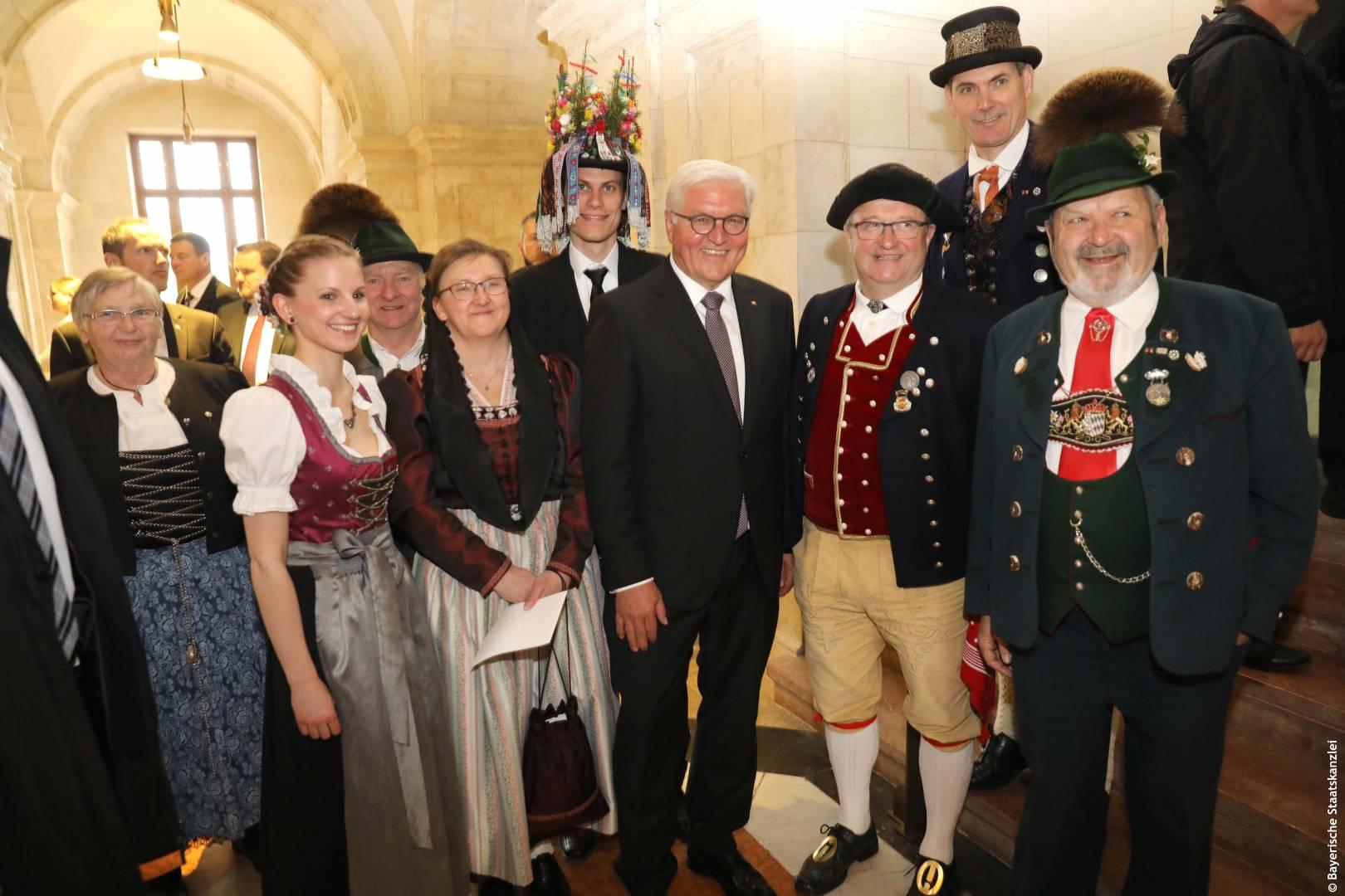 Frank-Walter Steinmeier Bayerische Staatskanzlei