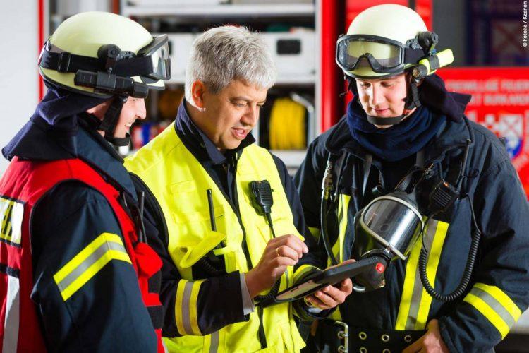 TabTool Feuerwehr im Einsatz