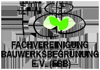 Logo Fachvereinigung Bauwerksbegrünung e.V. (FBB)