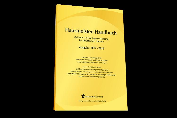 Das neue Hausmeister Handbuch des Verlag und Medienhaus Harald Schlecht