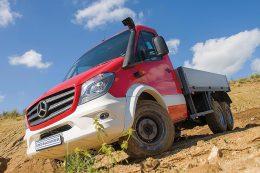 Oberaigner Automotive GmbH - Umrüstung eines Transporters