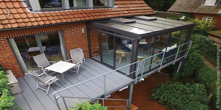 Top Wasserdichter und rutschfester Balkonbelag für ein Zwei OR66