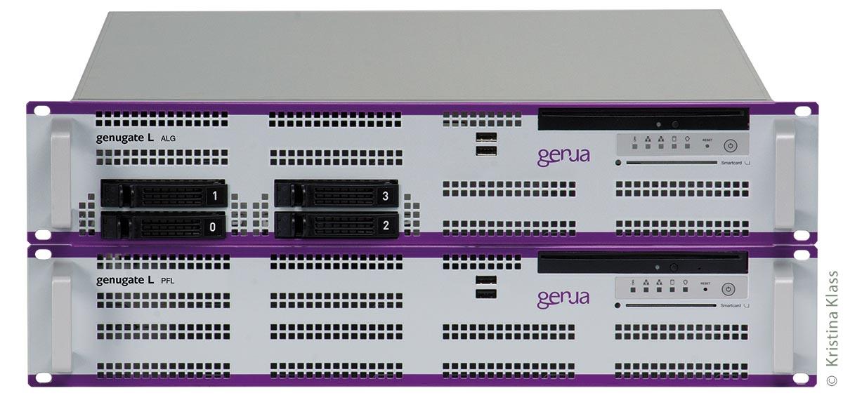 """""""genugate"""", die Firewall der genua GmbH, arbeitet in der Münchner Gemeinde Kirchheim zuverlässig und besitzt eine Zertifizierung durch das Bundesamt für Sicherheit in der Informationstechnik."""