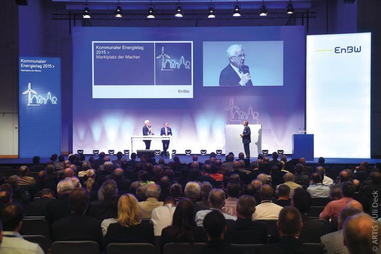 Kommunaler Energietag in der Liederhalle Stuttgart