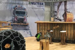 Der Messestand der Firma Mutter Solutions auf der ForstLive 2017