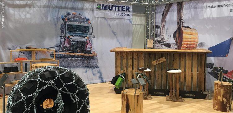Der Messestand der Firma Mutter Solutions auf der ForstLive 2017