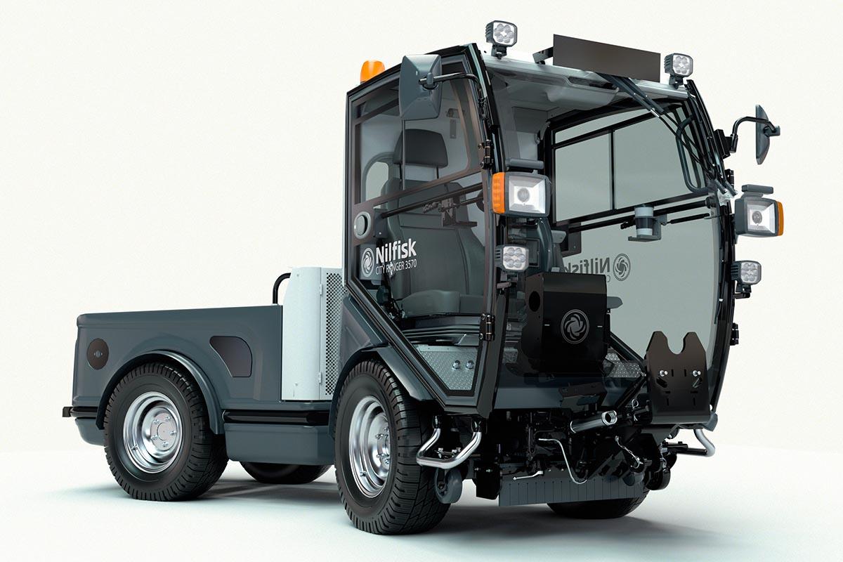 Der City Ranger 3570 punktet nicht zuletzt mit zahlreichen Features für einen anwenderfreundlichen und sicheren Arbeitsplatz.