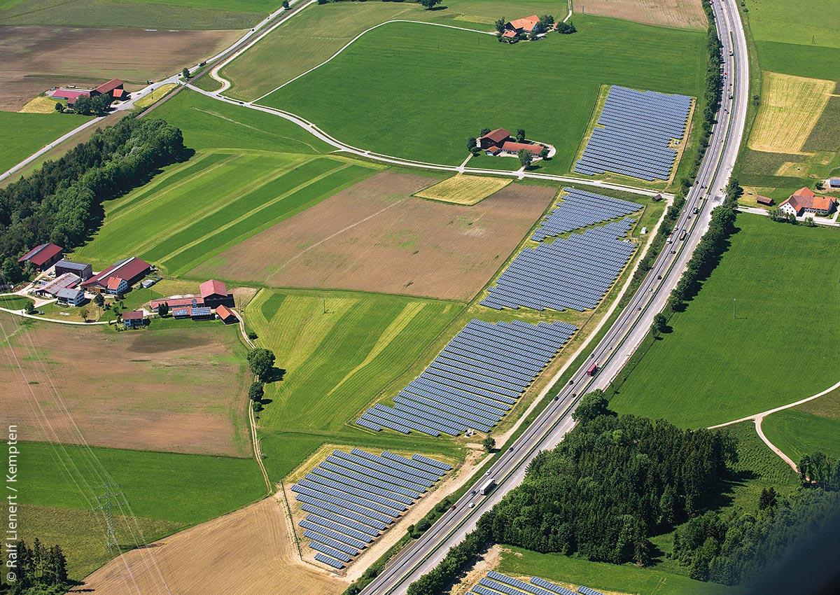 Photovoltaikanlagen liefern für Haldenwang 86 Prozent des Stroms.