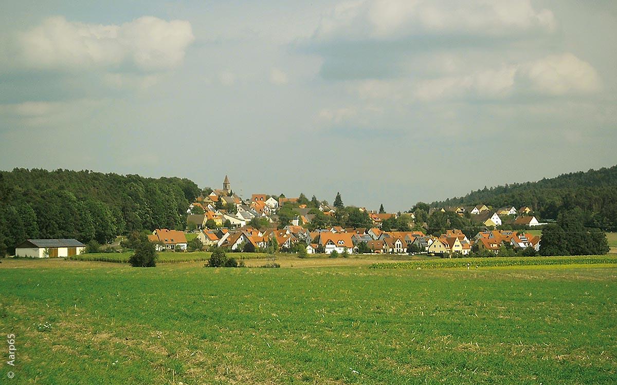 Kammerstein von Südwesten