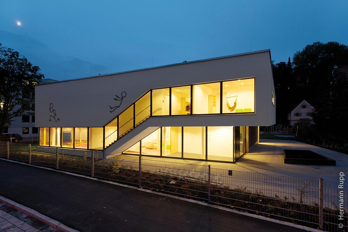 Die Kindertagesstätte Oberlinhaus – das erste Plus-Energie-Gebäude der Stadt Kempten