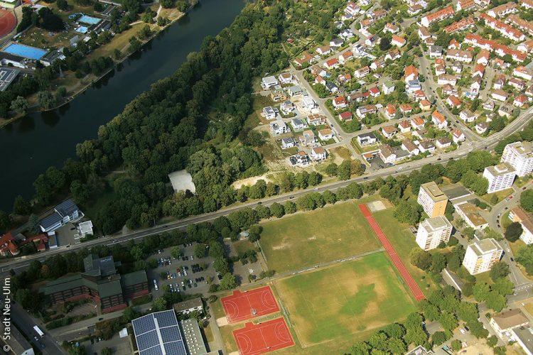Neu-Ulm von oben