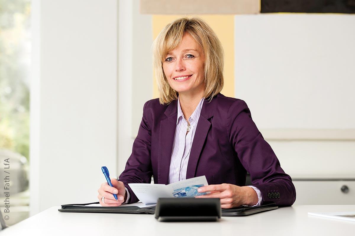 Birgit Zeidler, Expertin der LfA Förderbank Bayern