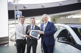 BMW - Übergabe i3 an Bayerisches Innenministerium