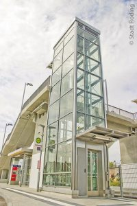 Stufenloser Zugang zum Bahnhof Roding mit zwei neuen Aufzügen