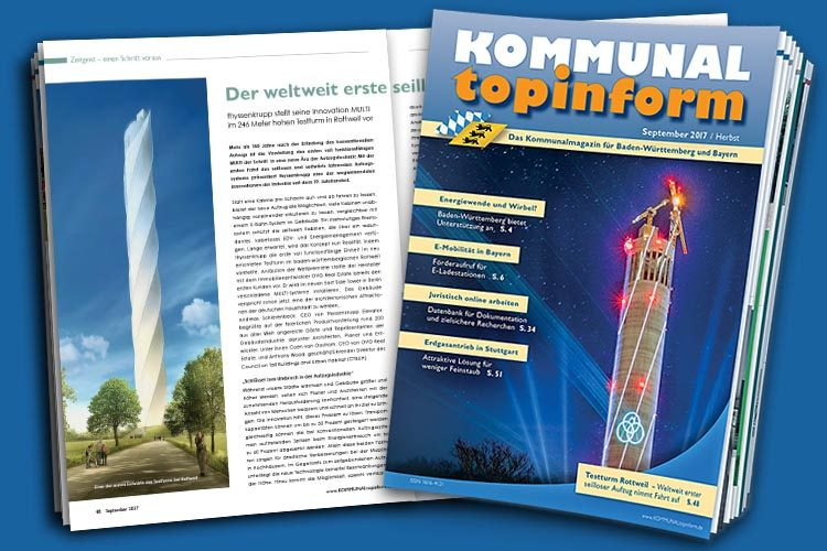 KOMMUNALtopinform Ausgabe September 2017