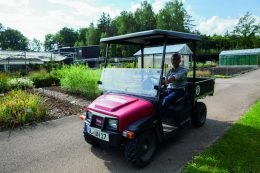 Toro Workman GTX im Einsatz beim Botanischen Garten in Ulm