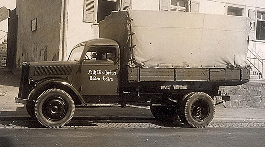 Der erste LKW von BIRCO von 1927