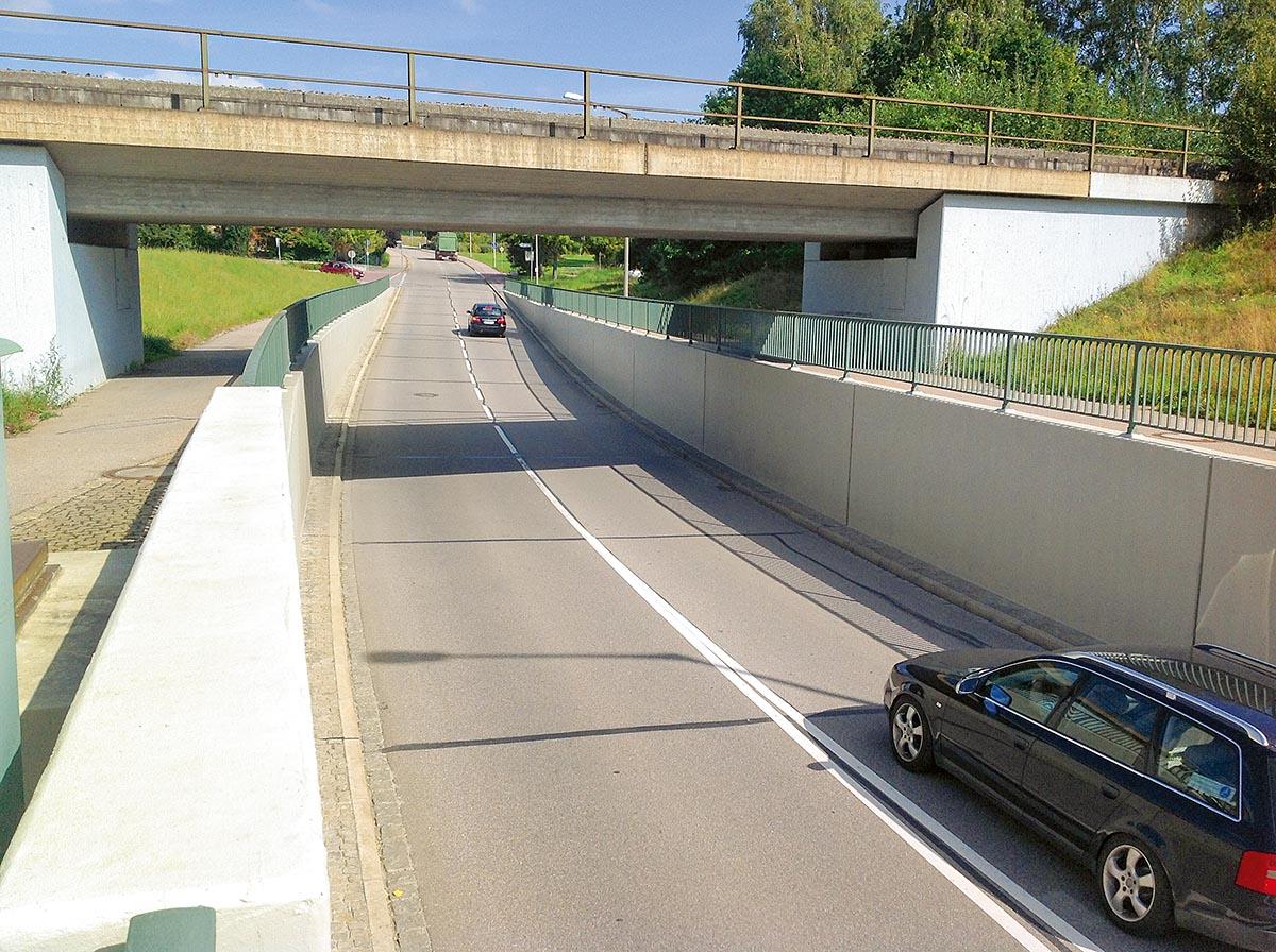 Der VEGAPULS WL 61 misst den Wasserstand in der Unterführung in Schwandorf zuverlässig und stellt so die Passierbarkeit sicher.