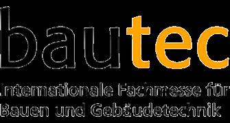 Logo der Fachmesse bautec Berlin