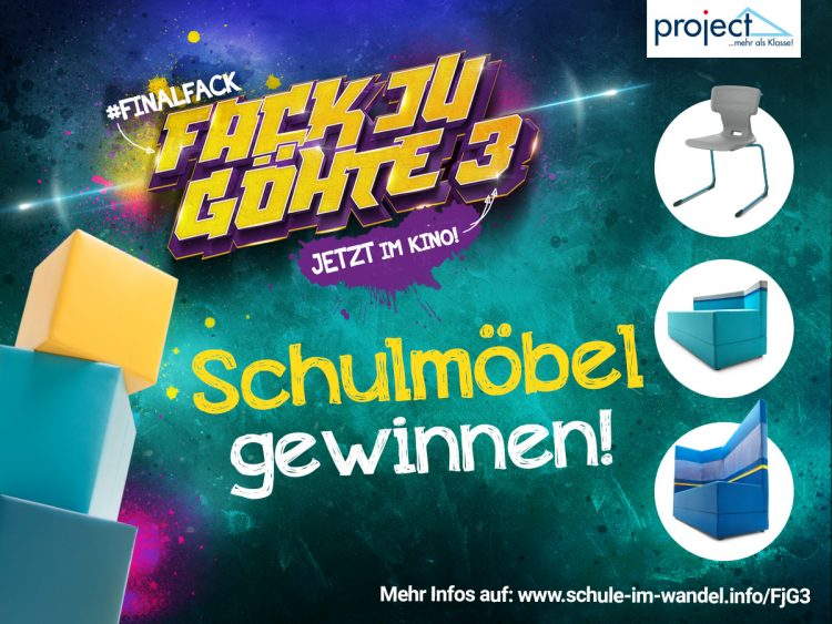 Fuck you Goethe - project Schulausstatter