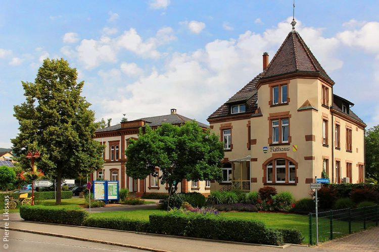 Das Rathaus der Gemeinde Steinen - Steinen praktiziert Doppik