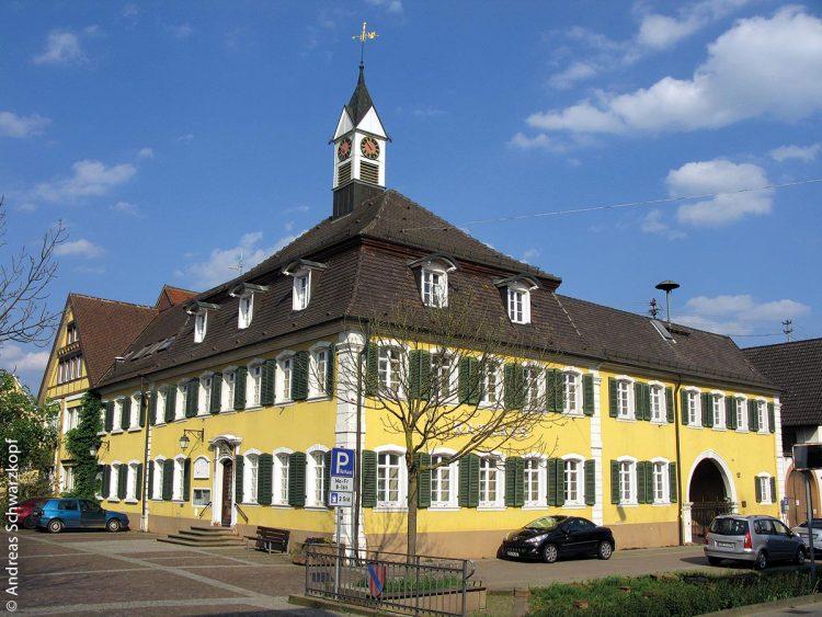 Das Rathaus in Teningen