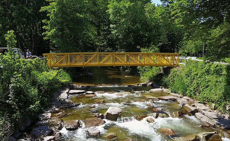 Brücken von Glück: Fachwerktrogbrücke in Bad Krozingen