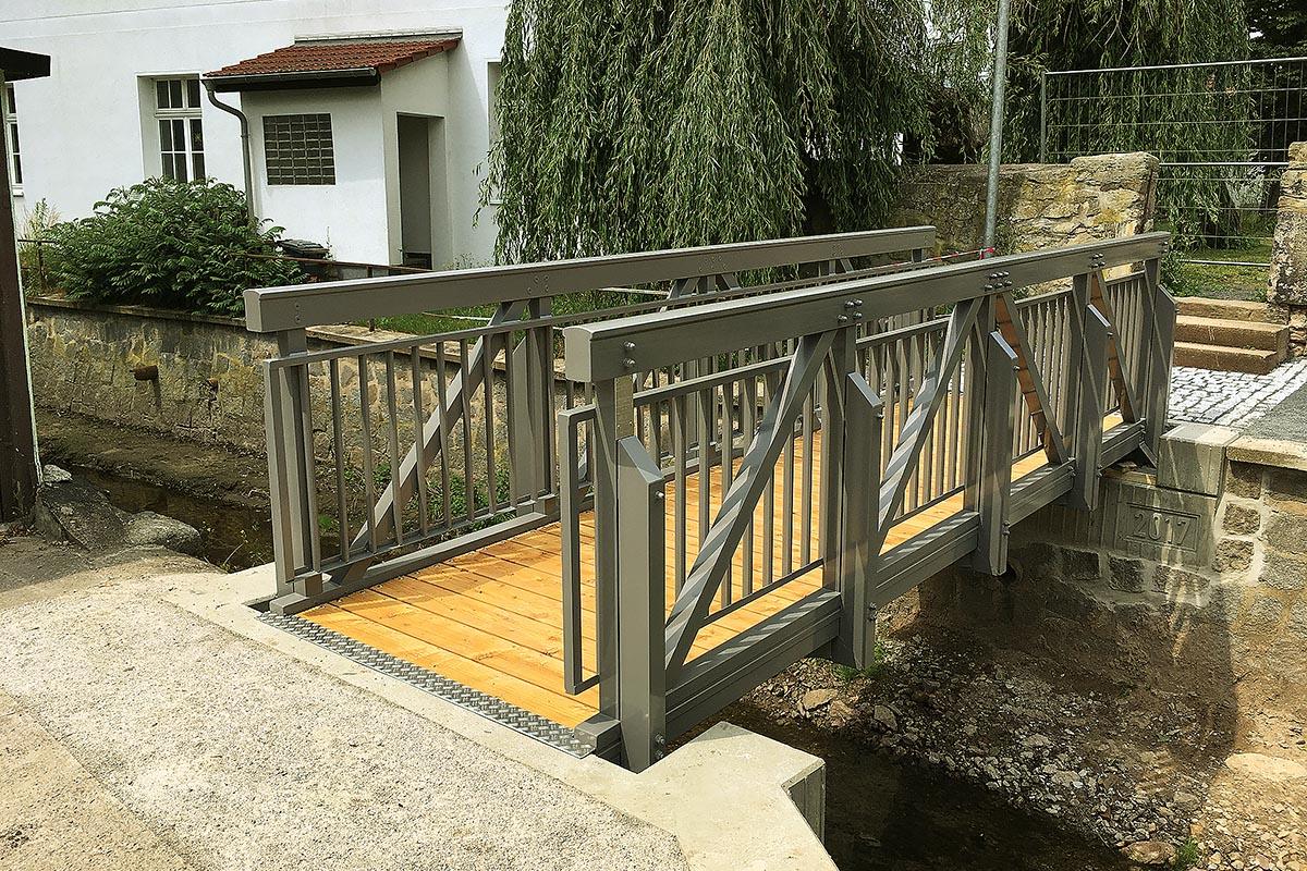 Brücken von Glück GmbH: Brücke in Hörselgau