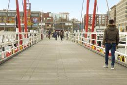 Hörnbrücke in Kiel saniert mit Trimax Bohlen von Tepro