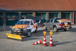 VW Amarok mit Winterdienst Ausrüstung