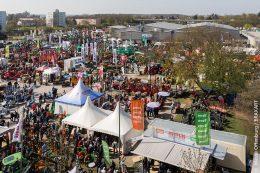 Forst live Messe Offenburg: Blick über das Messegelände