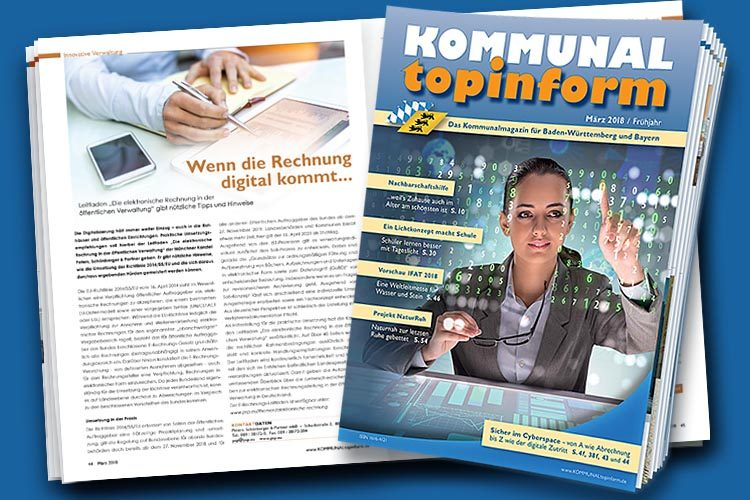 Kommunalmagazin KOMMUNALtopinform Märzausgabe 2018