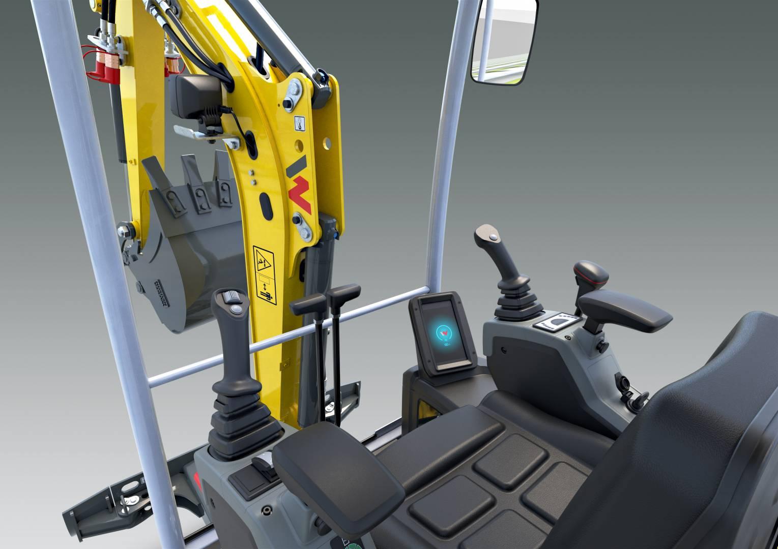 Emissionsfrei, leise und leistungsstark – Wacker Neuson präsentiert ersten akkubetriebenen Zero Tail Minibagger