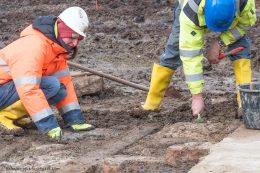 Stuttgart 21 - Ausgrabungsarbeiten