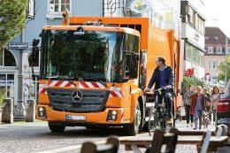 Econic 2635 als Müllfahrzeug