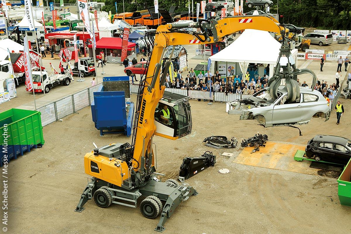 Die Live-Demonstrationen zählen zu den Publikums-Magneten der IFAT.