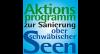 Logo der Seenfachtagung Aktionsprogamm zur Sanierung Oberschwäbischer Seen