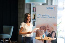 Bettina Stähler, stellvertretende Vorsitzende des VFUKS.