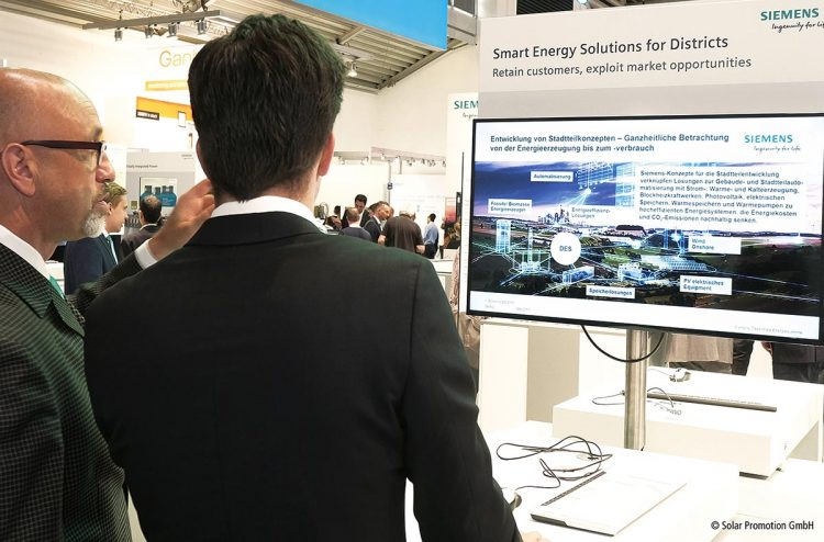 Solar Promotion Intersolar: The Smarter E-Innovationsplattform und Fachmesse weist Kommunen den Weg