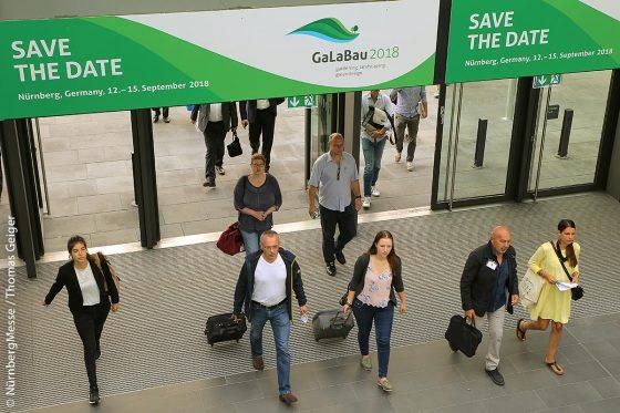 Die GaLaBau 2018 öffnet vom 12. bis 15. September im Messezentrum Nürnberg ihre Tore.