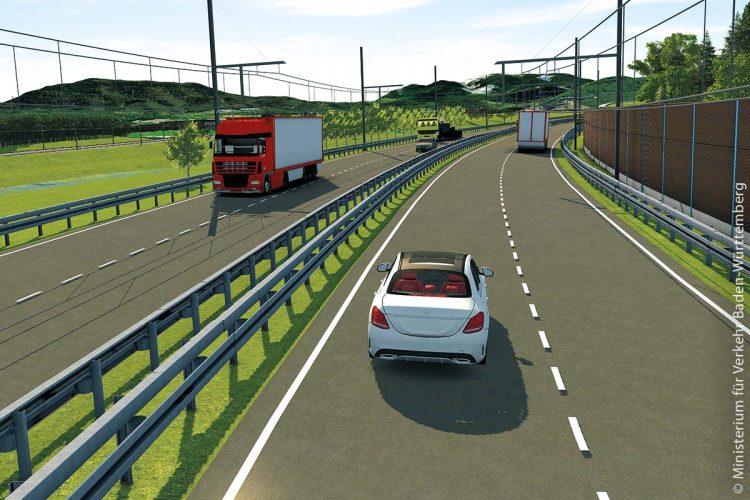 Elektrisch betriebene Hybrid-Fahrzeuge für eWayBW-Pilotprojekt gehen auf die Teststrecke